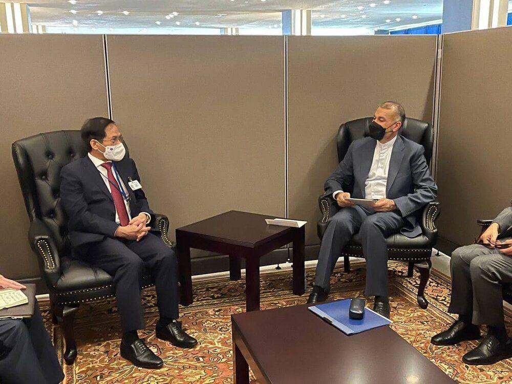 ادامه دیدارهای امیرعبداللهیان در حاشیه اجلاس سازمان ملل/عکس