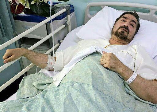 مجری تلویزیون در بیمارستان بستری شد