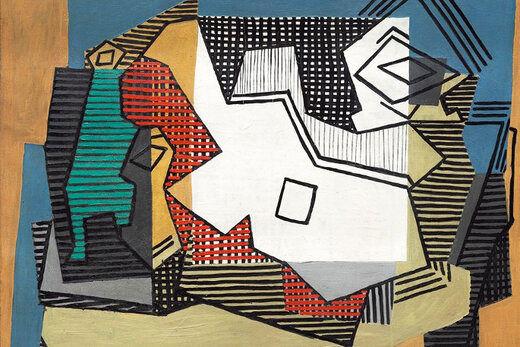 طراحی مخفیشده در زیر یکی از نقاشیهای پیکاسو/عکس