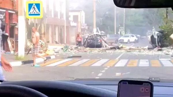 انفجار در هتلی در روسیه قربانی گرفت