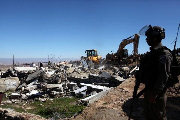 اسرائیل ۱۷۸ ساختمان مسکونی را در کرانه باختری تخریب کرد