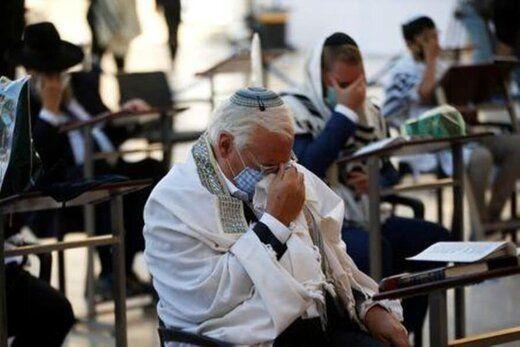 خاخامهای یهودی برای شفای ترامپ نماز خواندند/عکس