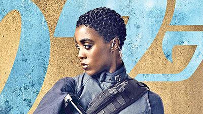 بازی زن سیاهپوست  در نقش «جیمز باند»