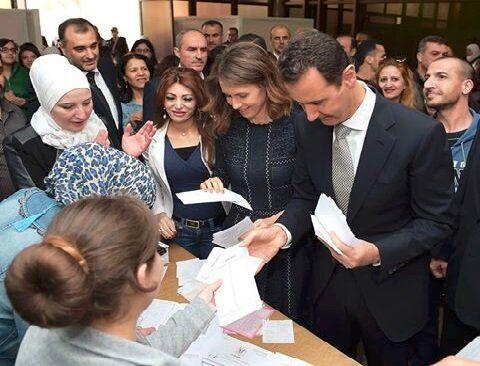 اعلام نامزدی رسمی بشار اسد برای انتخابات ریاست جمهوری