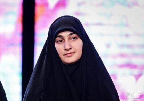 دختر سردار سلیمانی: در ستاد رئیسی نیستم