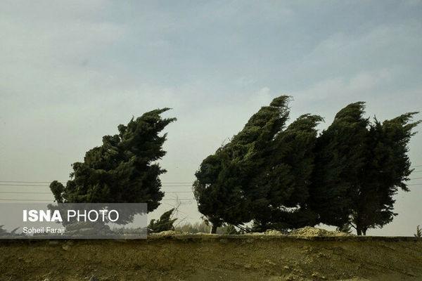 هشدار؛ وزش باد شدید در ۱۳ استان کشور