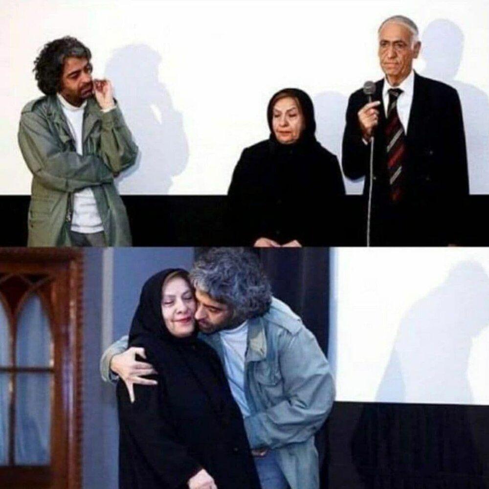 بابک+خرمدین+در+کنار+پدر+و+مادرش