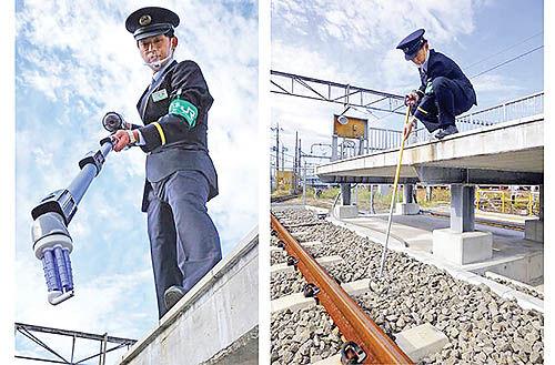 پاناسونیک جاروی مخصوص برداشتن ایرپادها از ریلهای قطار ساخت