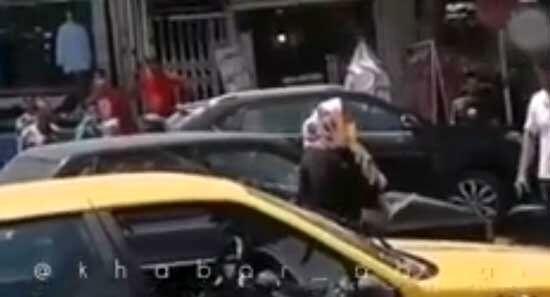 قمه کشی هولناک یک زن در ابهر!+فیلم