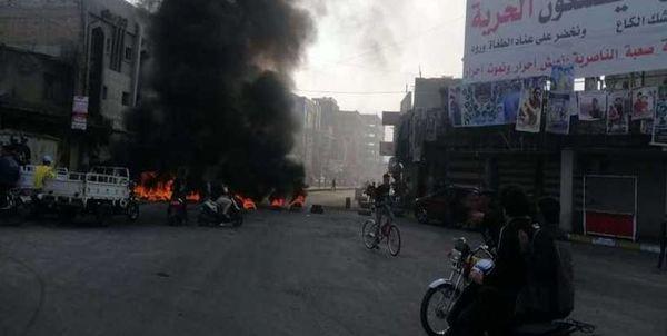 پایان درگیریها در الناصریه عراق با یک کشته و دهها زخمی