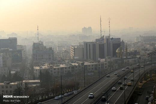 هوای این ۶ شهر کشور ناسالم است