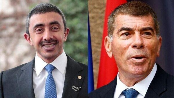 وزرای خارجه رژیم صهیونیستی و امارات دیدار میکنند