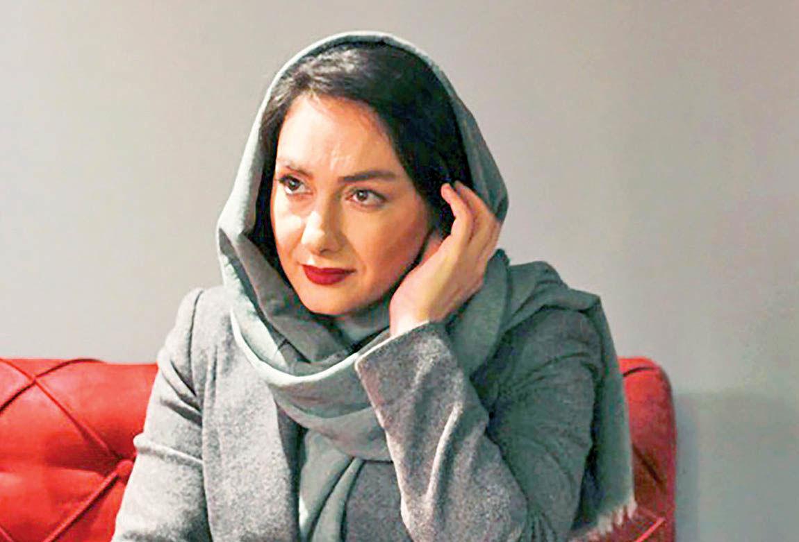 پخش تصویر هانیه توسلی و حذف بهرام رادان از تلویزیون