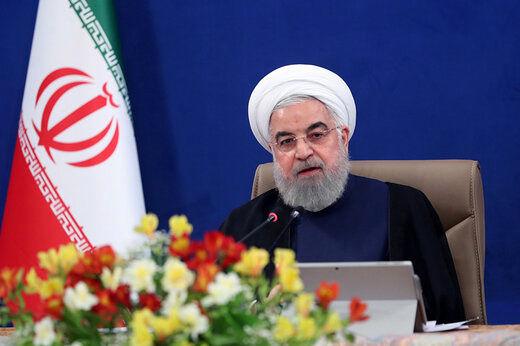 روحانی:کرونا مانع افزایشتولید نشد/ تحریمها نمیتواند ما را ازحرکت باز دارد/ ایران تبدیل به یک کارگاه عظیم و بزرگ شده است