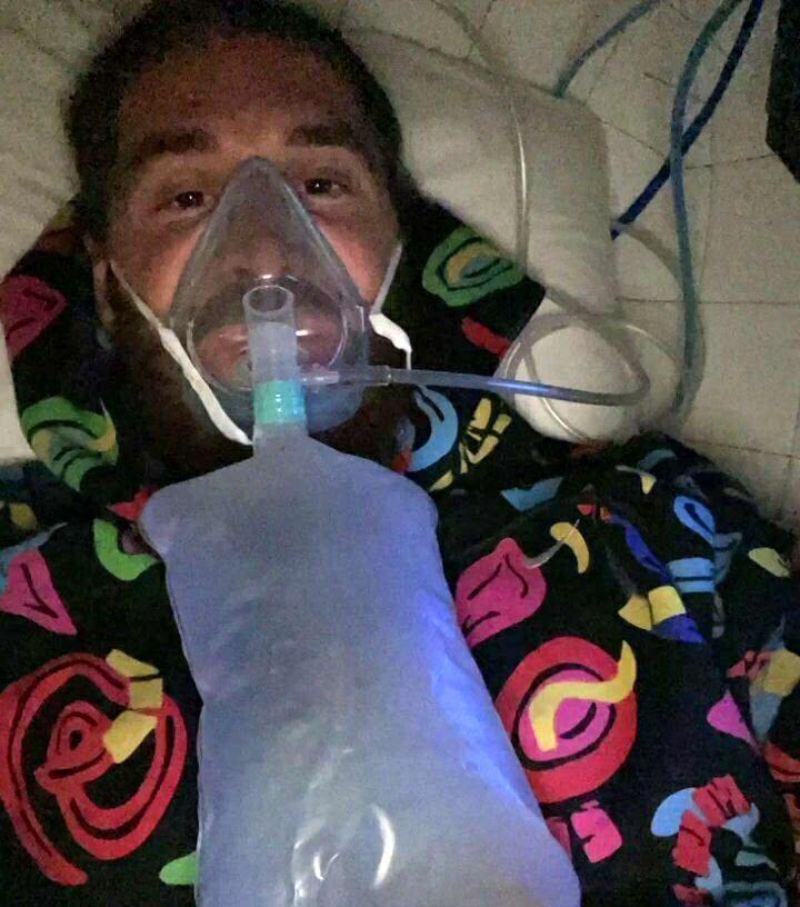 وضعیت نگرانکننده راموس بعد از ابتلا به کرونا/عکس
