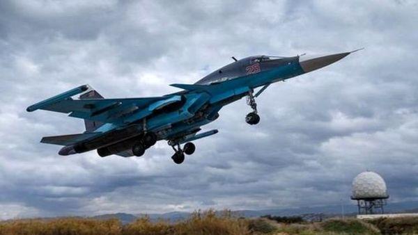 حملات متعدد روسیه به مواضع داعش در سوریه طی۲۴ ساعت گذشته