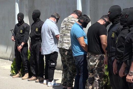حمله اراذل و اوباش به پلیس با قمه در صادقیه