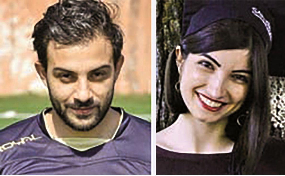 مرگ دردناک جوان ایرانی و نامزدش بر اثر سقوط تلهکابین در ایتالیا + عکس