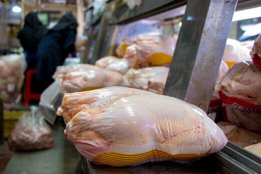 قیمت هر کیلو گوشت مرغ در میادین تره بار
