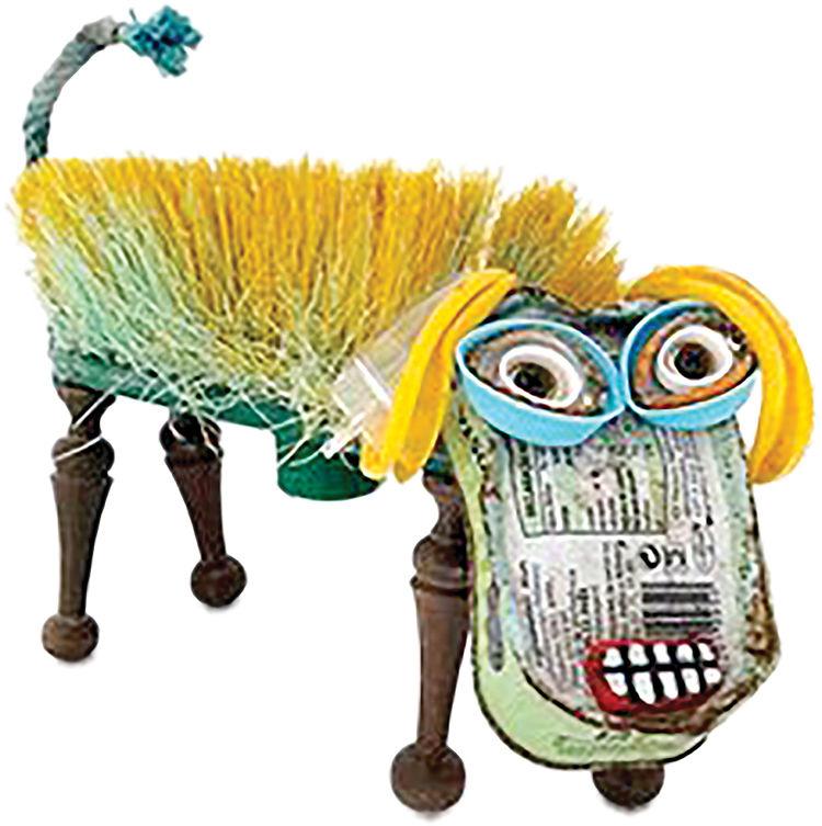 آثار هنری از جنس زبالههای غیرقابل بازیافت