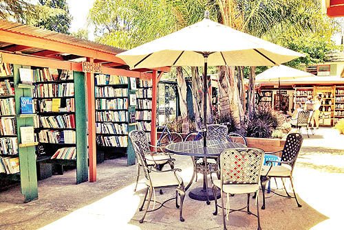 بزرگترین کتابفروشی بدون سقف جهان