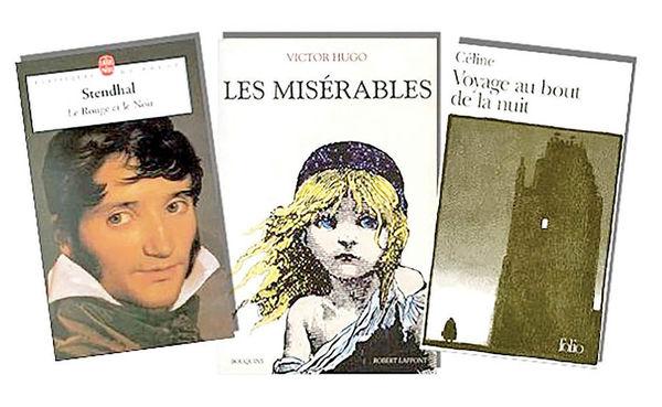 «بینوایان» در صدرپیشنهاد نویسندگان فرانسوی برای مطالعه