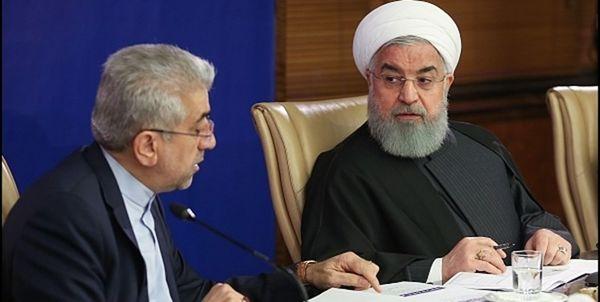 افتتاح طرح های ملی وزارت نیرو با حضور روحانی