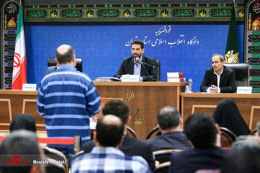 سومین جلسه رسیدگی به اتهامات شبنم نعمت زاده، احمدرضا لشگری پور و شرکت توسعه دارویی رسا