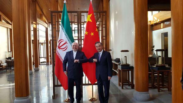 وزیر خارجه چین با ظریف دیدار کرد