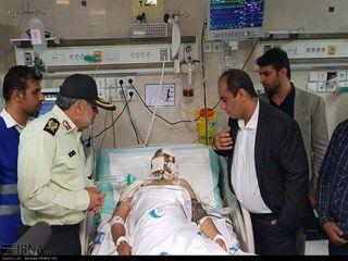 مصدومان حادثه تروریستی چابهار
