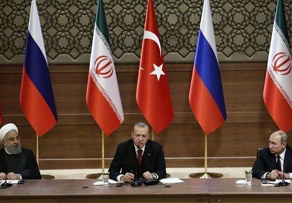 بیانیه مشترک نشست مجازی سران روند آستانه| تعهد ایران، روسیه و ترکیه به استقلال و تمامیت ارضی سوریه