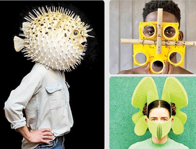 نمایشگاهی برای بیان هنری ماسک