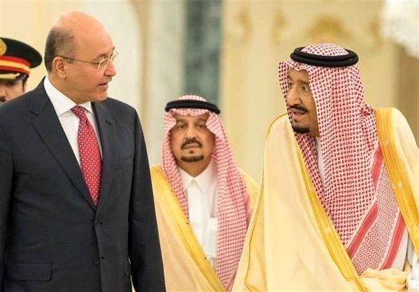 گفتوگوی ملک سلمان و رئیسجمهور عراق درباره امنیت منطقه