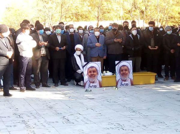 پیکر حجت الاسلام راستگو به خاک سپرده شد