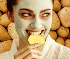 تاثیر فوق العاده سیب زمینی برای زیبایی و جوانی پوست