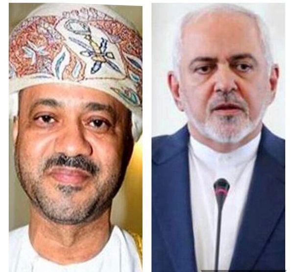 تماس تلفنی وزیر خارجه عمان با ظریف در پی ترور شهید فخریزاده