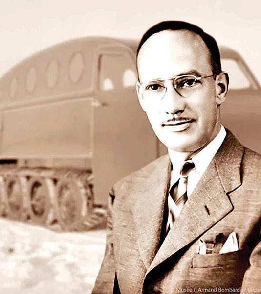 موسس شرکت بمباردیه و  مخترع ماشین برفپیما