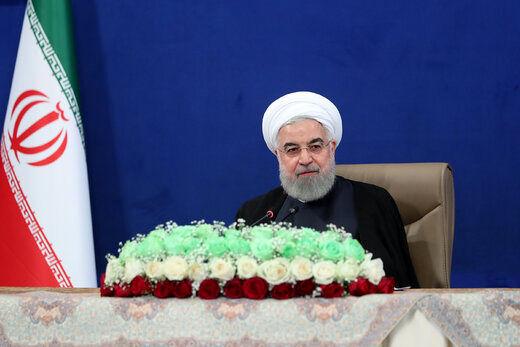 روحانی: تجارت نفتی ایرانی با دیگر کشورها ارتباطی به آمریکا ندارد/ بودجه امسال را به خوبی اجرا میکنیم