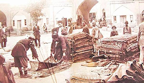 تجارت قالی جوهری در عصر قاجاریه