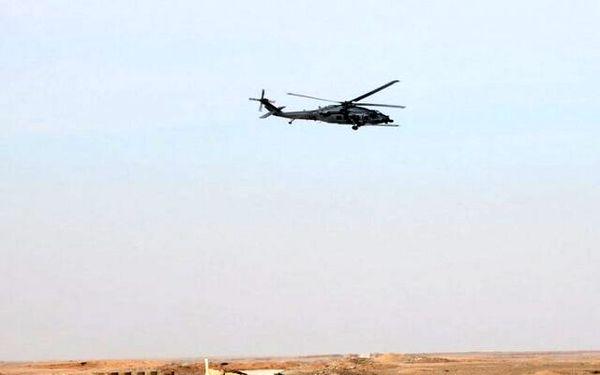 پرواز مشکوک هواپیمای آمریکایی در آسمان الانبار