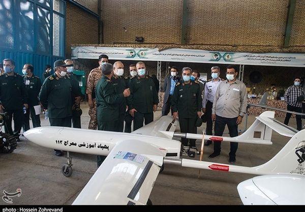 رونمایی از جدیدترین پهپاد نیروی زمینی سپاه + عکس