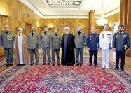 دولت به حمایت خود از نیروهای مسلح ادامه میدهد