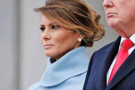 ملانیا ترامپ بعد از حمله به کنگره آمریکا ناپدید شد!