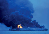 تصادف 130 میلیون دلاری در آبهای چین