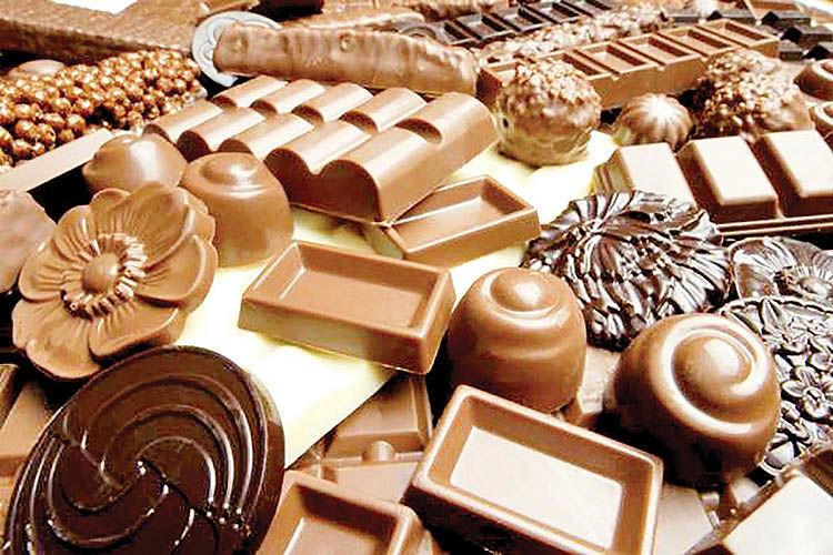 کام شیرین بازار شکلات ایران