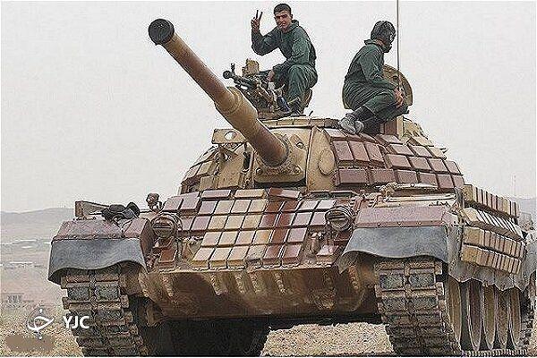 این تانک ایرانی توانایی نظامی کشور را به رخ جهان کشید + عکس