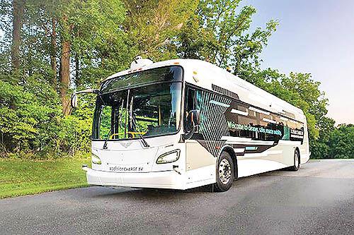 استفاده از اتوبوسهای خودران در آمریکا