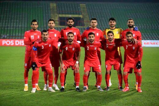 تیم ملی فوتبال دو پله در رنکینگ فیفا سقوط کرد