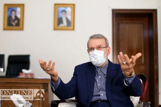 علی لاریجانی: دلایلی برای ردصلاحیتم جور کردند، واقعا متاسفم!