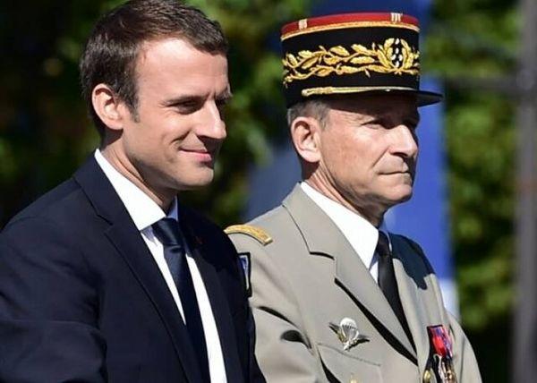 رئیس ستاد کل نیروهای مسلح فرانسه استعفا کرد